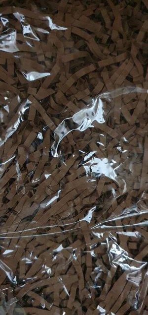 Бумажный наполнитель 100 гр коричневый