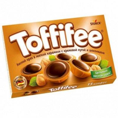 Сладости 🍫для вашей радости☕️ — Конфеты Toffifee — Конфеты