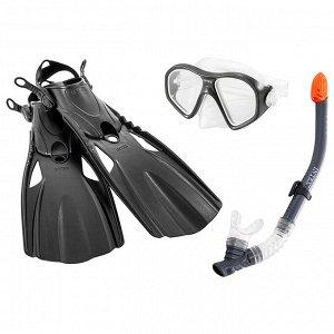 Набор для подводного плавания «Сёрфинг», маска, трубка, размер 41-45, от 14 лет, 55657 INTEX