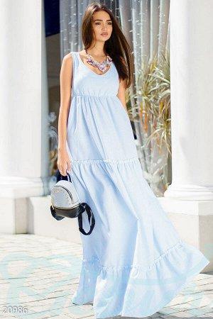 Летнее платье-макси