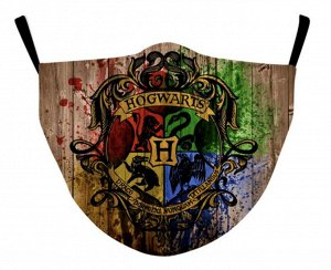 Защитная маска Гарри Поттер Хогвардс.