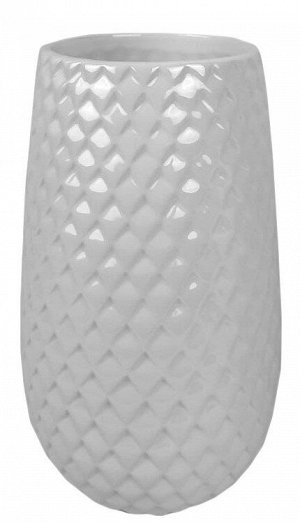 Ваза  жемчужный перламутр 20*11*11см керамика