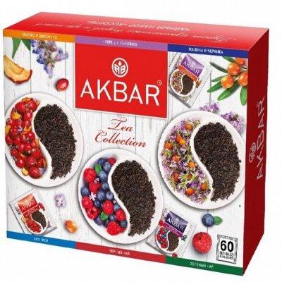 Подарочный набор ЧАЙ КОФЕ любимым на подарки — Чай AKBAR с добавками — Чай
