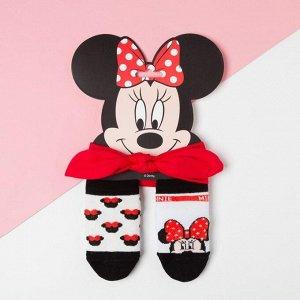 """Набор """"Minnie"""", Минни Маус, повязка, носки 2 пары р.8-10 см"""
