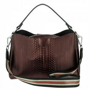 Женская кожаная сумка 3311A COFFEE