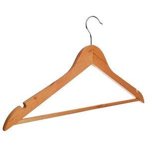 Вешалка для одежды деревянная 45см