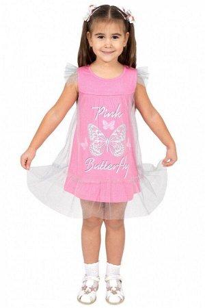 Платье для девочки Л2147-5719, гиацинт