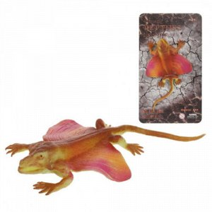 Фигурка Ящерица-тянучка из мягкой резины, карт.16*2*29 см