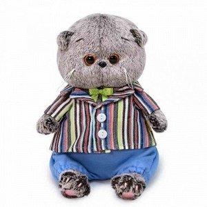 Игрушка мягк. Басик Baby в полосатом пиджаке, 20 см