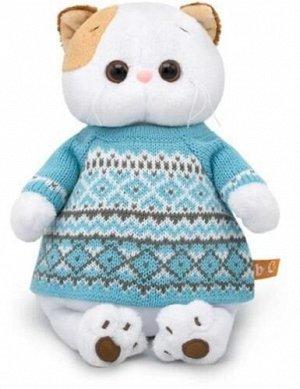 Игрушка мягк. Кошечка Ли-Ли в свитере,24 см