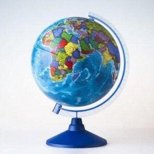 Глобус Земли политический ,D-250 мм
