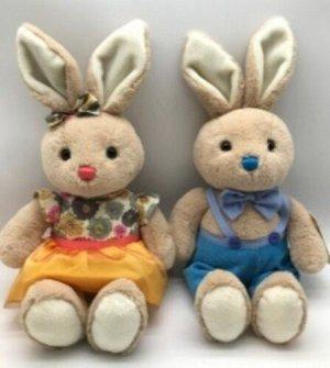 Мягкая игрушка Зайчик (мальчик/девочка) 25 см
