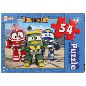 Пазлы 54 эл. Робот Трейнс