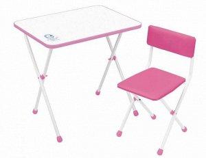 "Набор мебели ""Умка фантазер""  (стол+ мягк. стул) цв. розовый"