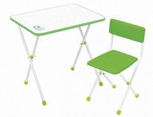 "Набор мебели ""Умка фантазер""  (стол+ мягк. стул) цв. салатовый"