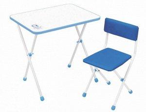 "Набор мебели ""Умка фантазер""  (стол+ мягк. стул) цв.голубой"