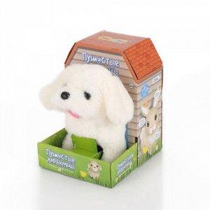 """Интерактивная игрушка Mioshi Active """"Веселый щеночек"""" подвижн., звук, цв. белый,19*11*16 с"""