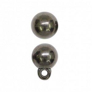 Пуговицы в тубе  0315-1503A 12L , упак.36 шт. черный никель Пуговицы в тубе  0315-1503A 12L , упак.36 шт. черный никель