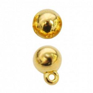 Пуговицы в тубе 0315-1503A 12L , упак.36 шт. золото Пуговицы в тубе 0315-1503A 12L , упак.36 шт. золото