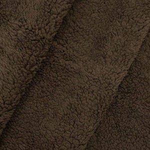 Мех искусственный  50*50см AR992 цв. коричневый Мех искусственный  50*50см AR992 цв. коричневый