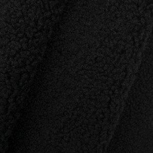 Мех искусственный кудрявый трикотаж 50*50см AR1016 цв. 11 черный Мех искусственный кудрявый трикотаж 50*50см AR1016 цв. 11 черный