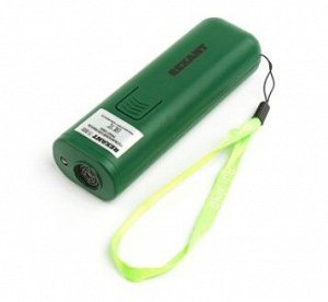 Отпугиватель собак, ультразвуковой, 25 КГц, тренер собак, фонарик, 8 м