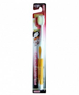 """006900 """"EBISU"""" Зубная щетка (комбинированный прямой срез ворса. Мягкая), 1/360"""