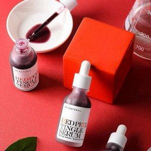 Пилинг-сыворотка для лица So'Natural Red Peel Tingle Serum, 35ml