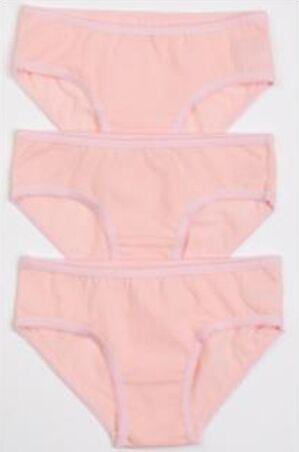 Набор трусов для девочек персик