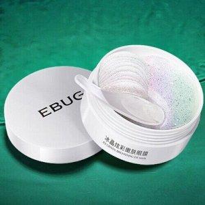 Патчи для глаз с ниацинамидом EBUG ICE CRYSTAL Nicotinamide, 60 шт.