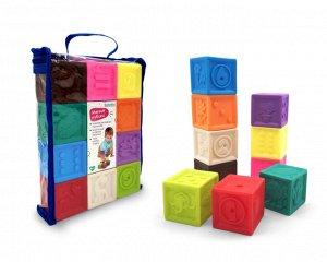 "Мягкие кубики 10 шт. ""Elefantino"""