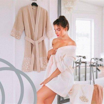 Распродажа полотенец Cleanelly! Успеваем до повышения цен!   — Женские халаты — Халаты