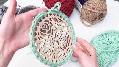 Шитье и вышивание от Симы — Основы для вязаных изделий — Вышивание