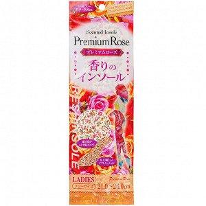 """015789 """"FUDO KAGAKU"""" Женские дышащие стельки с ароматом розы 21-26 см. 1/360"""