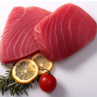 Стейки тунца в в/у по 500гр. Удобно хранить — Стейки тунца — Свежие и замороженные