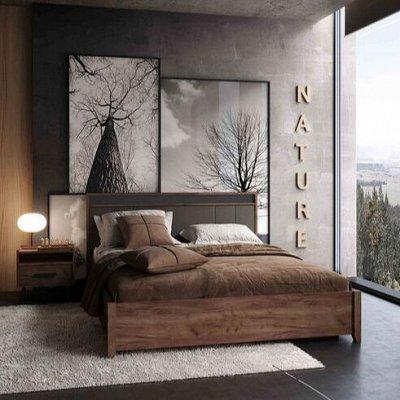 Классический и современный стиль. Мебель для каждого! — Спальня Nature (Дуб табачный Craft) — Мебель