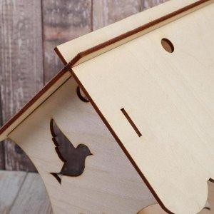 Кормушка для птиц «Птички», 15 ? 16 ? 24 см, Greengo