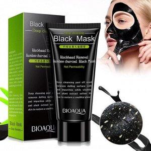 *Маска-пленка Bioaqua для очищения пор от черных точек маска для лица