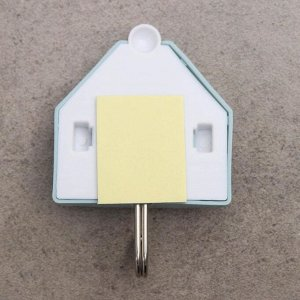Набор крючков на липучке «Домики», 3 шт, дизайн МИКС