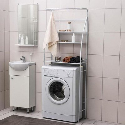 Красивая и удобная ванная — Стойки для вещей