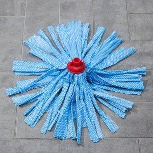 Насадка для швабры ленточная Доляна, вискоза, 110 гр, цвет МИКС