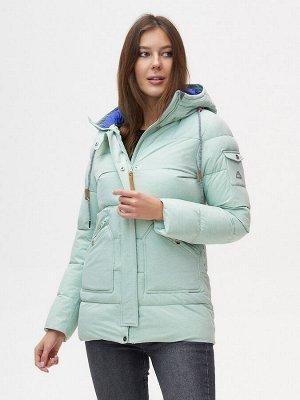 Куртка зимняя MTFORCE бирюзового цвета 2080Br