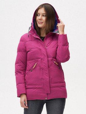 Куртка зимняя MTFORCE малинового цвета 2080M