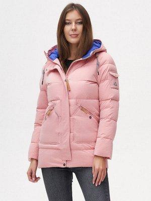 Куртка зимняя MTFORCE розового цвета 2080R