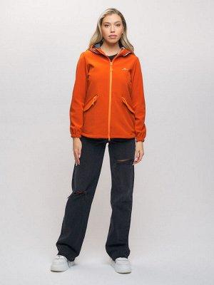 Ветровка MTFORCE женская оранжевого цвета 20014O