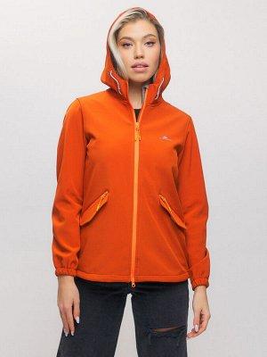 Ветровка MTFORCE женская оранжевого цвета 20014-1O