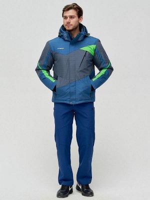 Горнолыжная куртка MTFORCE серого цвета 2071Sr