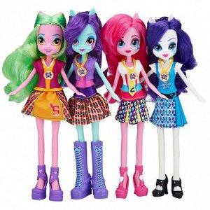 """Кукла Восхитительная кукла My Little Pony из мультфильма """"Equestria Girls"""" непременно понравится вашей маленькой поклоннице My Little Pony. Куколка с длинными волосами, Она одета в яркое стильное плат"""