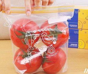 Zip пакеты, р-р 15,5*13 см, упаковка 30 шт