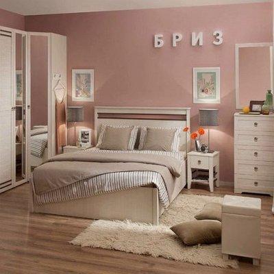 Классический и современный стиль. Мебель для каждого! — Спальня Бриз (Бодега Светлый) — Мебель